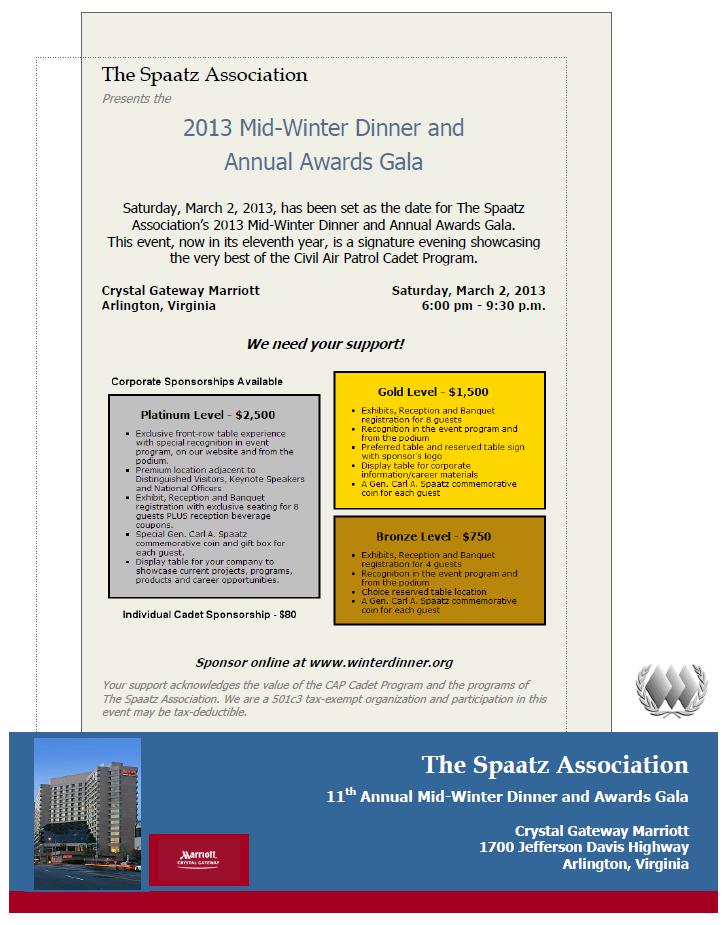 2013 MWD  Sponsor Flyer Graphic